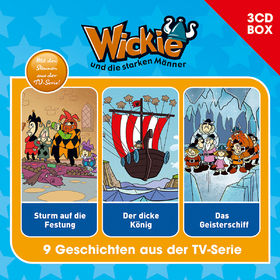 Wickie, Wickie - 3-CD Hörspielbox Vol.2, 00602547149992