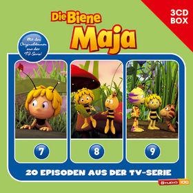 Die Biene Maja, 3-CD Hörspielbox zur neuen TV-Serie Vol.3, 00602547153524