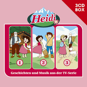Heidi, Heidi - 3-CD Hörspielbox Vol.1, 00602547157522
