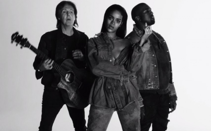 Rihanna & Kanye West & Paul McCartney - FourFiveSeconds