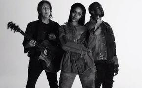 Paul McCartney, Jetzt ansehen: Das Video zur Single FourFiveSeconds von Rihanna, Kanye West und Paul McCartney ist da