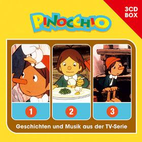 Pinocchio, Pinocchio - 3-CD Hörspielbox, 00602547157515