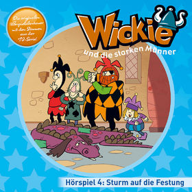 Wickie, 04: Sturm auf die Festung, Nochmal davongekommen, 00602547160201