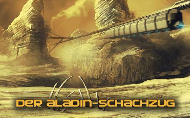 Mark Brandis, Hörprobe und Infos zur 5. Folge von Mark Brandis – Raumkadett Der Aladin-Schachzug