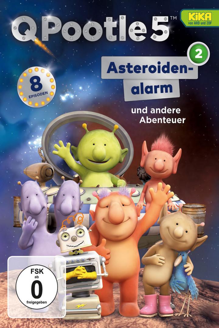 Asteroidenalarm (DVD 2, Folge 9 - 16)