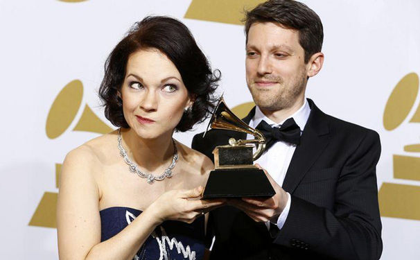 Hilary Hahn, Hilary Hahn bei den 57. Grammy Awards ausgezeichnet