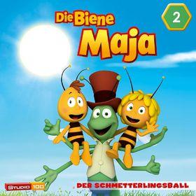 Die Biene Maja, 02: Der Schmetterlingsball u.a. (CGI), 00602547159892
