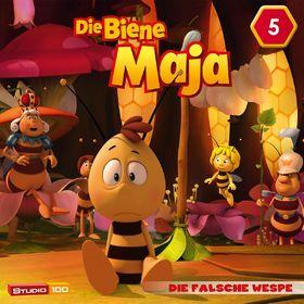 Die Biene Maja, 05: Die falsche Wespe, Max wird mutig u.a. (CGI), 00602547159960