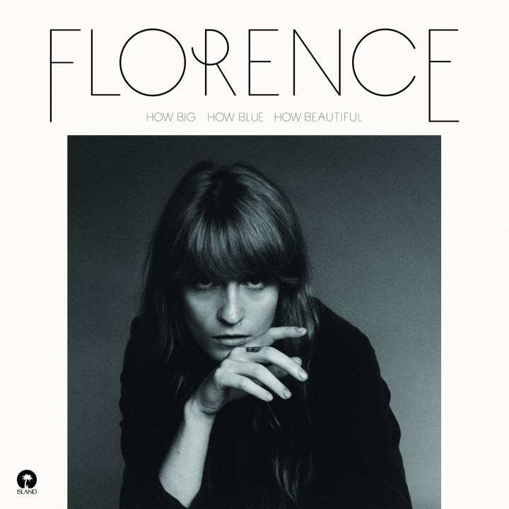 "Florence + The Machine - Albumcover - ""How Big How Blue How Beautiful"""