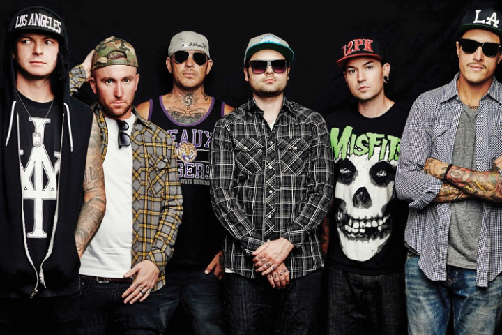 Hollywood Undead 2015 Bild 1