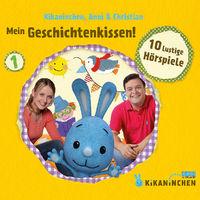 Kikaninchen, 01: Mein Geschichtenkissen! 10 lustige Hörspiele, 00602537539932