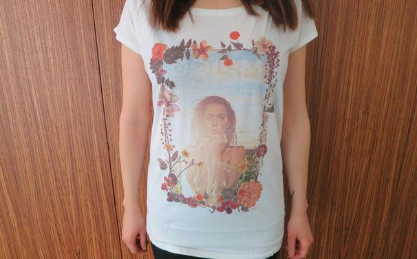 Katy Perry, Gewinnt jetzt eines von drei Katy Perry Fan-Shirts in S, M oder L zu ihrem Album Prism