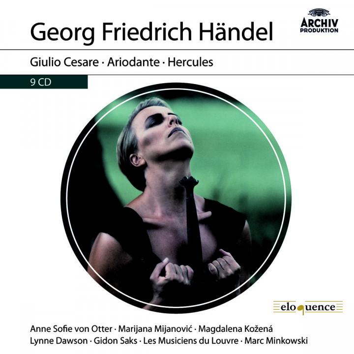 Händel: Giulio Cesare HWV 17; Ariodante HWV 33; Hercules HWV 60
