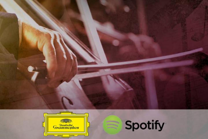 Deutsche Grammophon bei Spotify
