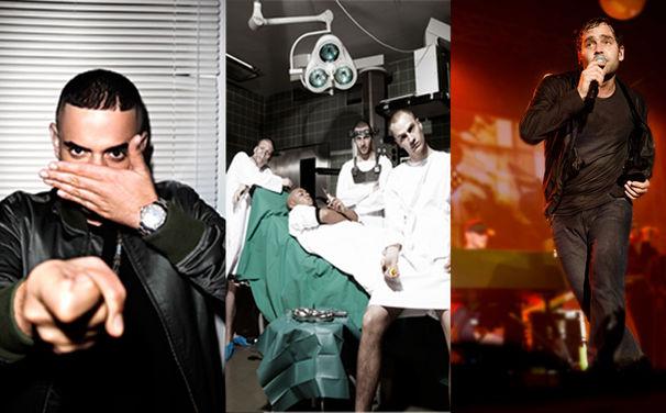 Bosse, Haftbefehl, Bosse und K.I.Z. supporten die Castivals von Rapper Casper