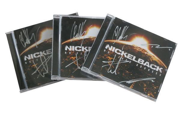 Nickelback, No Fixed Address inklusive Autogrammen: Gewinnt eins von drei aktuellen Nickelback Alben