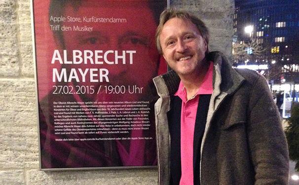 Albrecht Mayer, Artist to go - Albrecht Mayer spricht und spielt im mo:ma und im iTunes Podcast