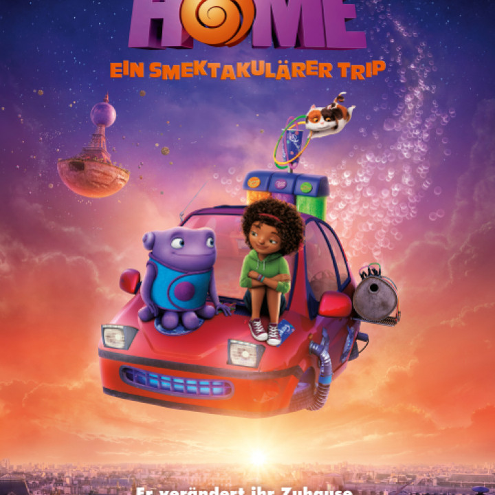 Home – Ein smektakulärer Trip Plakat