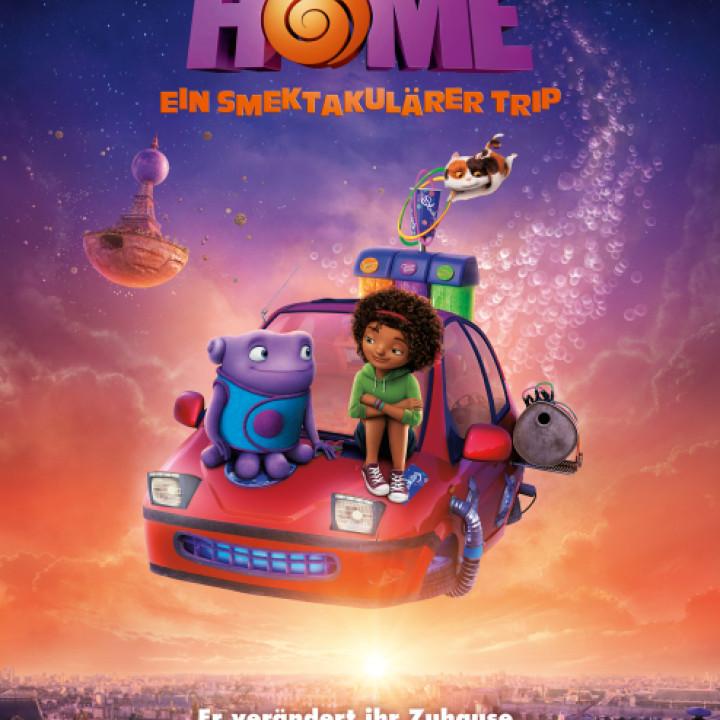 Home—Ein smektakulärer Trip Plakat