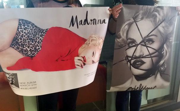 Madonna, Rebel Heart in zwei Motiven zum Aufhängen: Gewinnt Poster zu Madonnas neuem Album