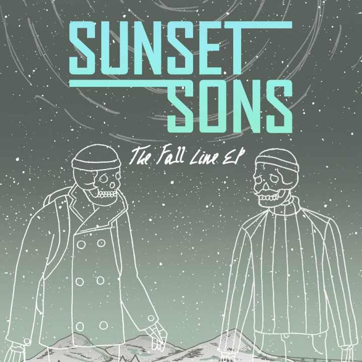 Sunset Sons The Fall Line EP Cover