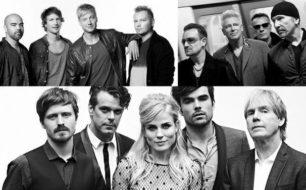 U2, Tippen und gewinnen: Wer bekommt den ECHO 2015 als Band Rock/Pop international?