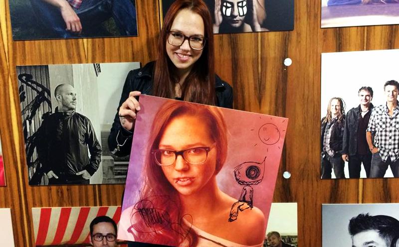 Stefanie Heinzmann, Stefanie-Heinzmann-Artistbild-Gewinnspiel