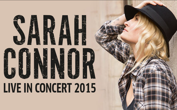 Sarah Connor, Ticketalarm: Sichert euch ab heute Tickets für die bevorstehende Herbst-Tournee LIVE IN CONCERT 2015