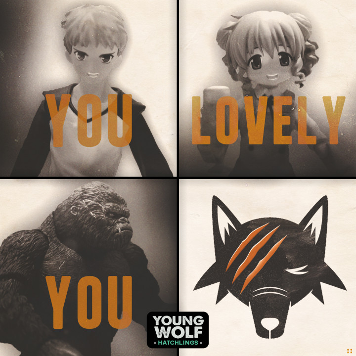 Young Wolf Hatchlings-You Lovely You-2015