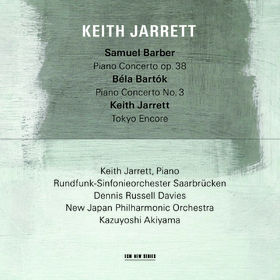 Keith Jarrett, Samuel Barber/ Béla Bartók, 00028948115808