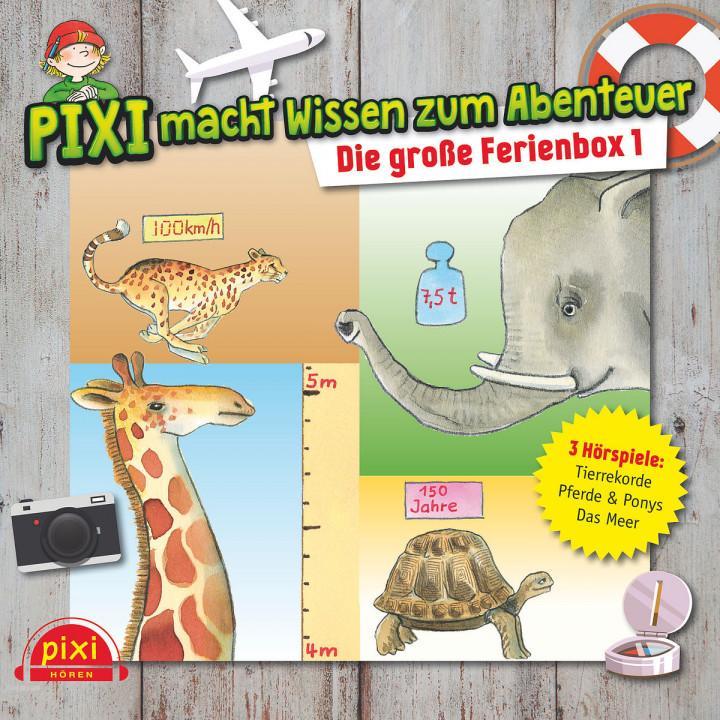 Pixi Wissen: Die große Ferienbox 1