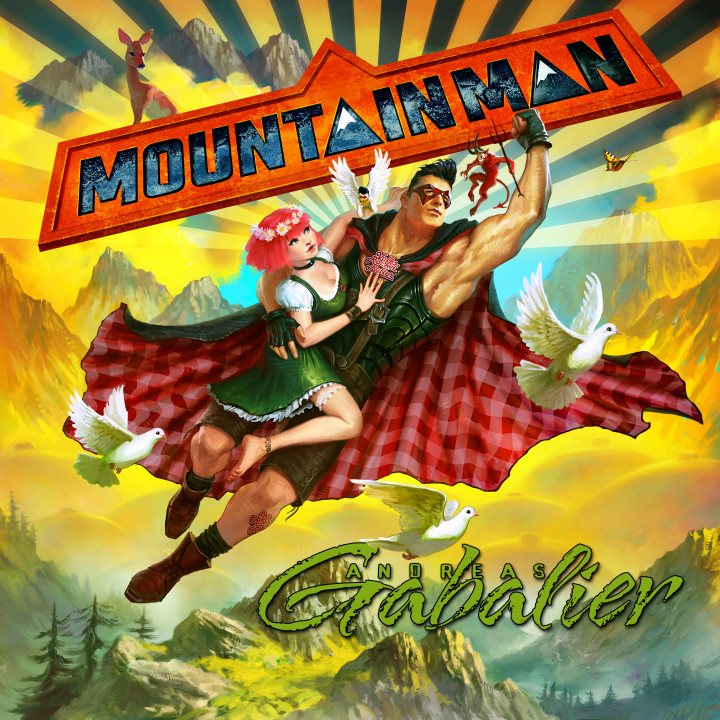 Mountain Man - Andreas Gabalier Album Cover 2015