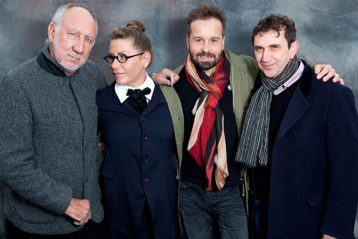 Von links: Pete Townshend, Rachel Fuller, Alfie Boe, Phil Daniels