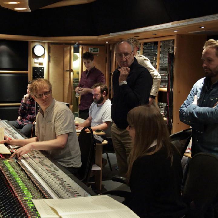 Von links: Pete Townshend, Rachel Fuller, Alfie Boe