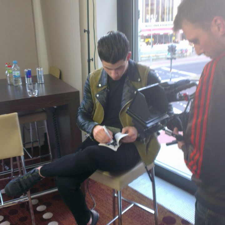 Nick Jonas beim Close Up in Berlin 2