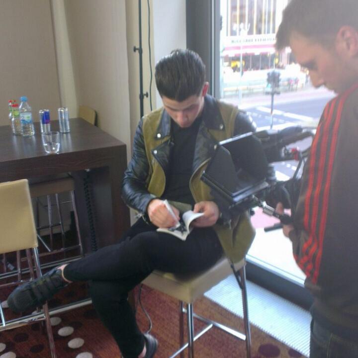 Nick Jonas beim Close Up in Berlin 2