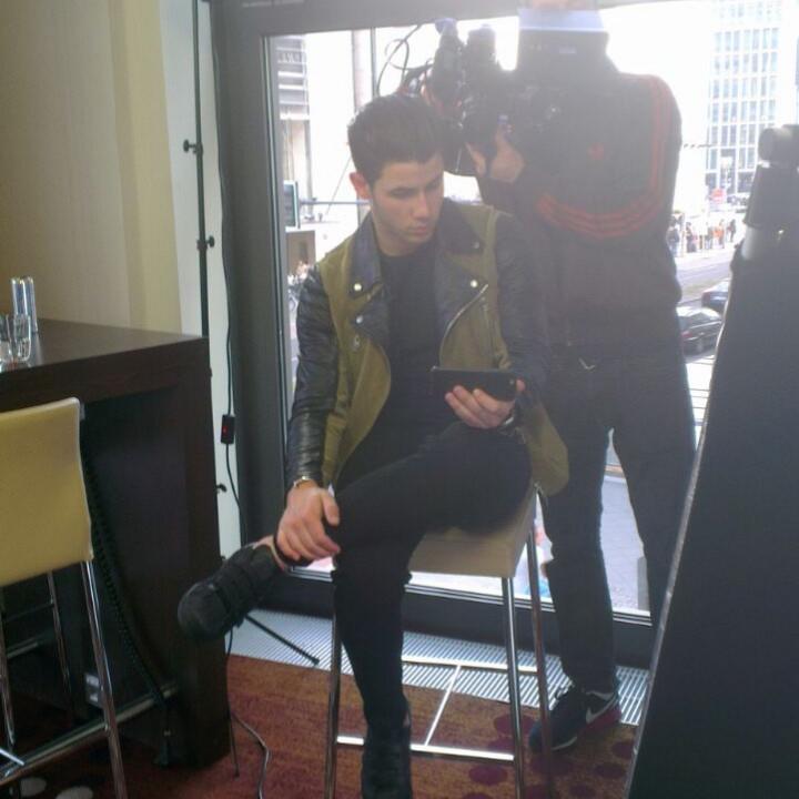 Nick Jonas beim Close Up in Berlin 4