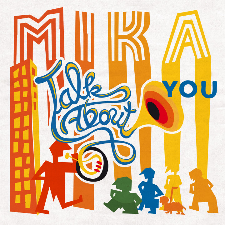 Mika Talk About You Single Cover