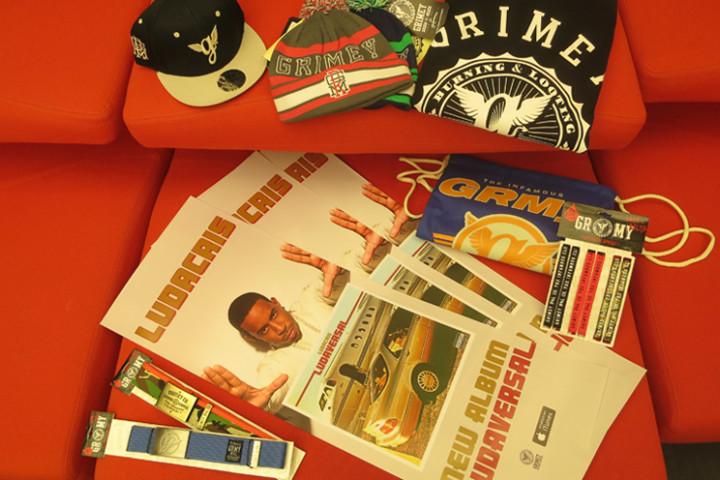 Ludacris Grimey Gewinnspiel