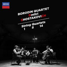 Shostakovich: String Quartets Nos.1, 8 & 14, 00028947882053