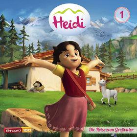 Heidi, 01:  Die Reise zum Großvater u.a. (CGI), 00600753608524