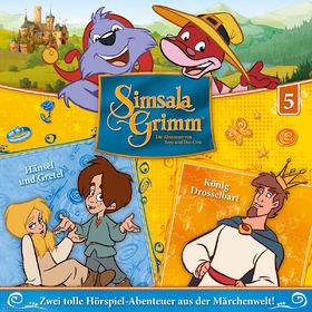 SimsalaGrimm, 05: Hänsel und Gretel / König Drosselbart, 00602547225597