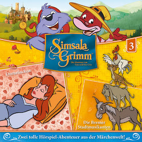SimsalaGrimm, 03: Dornröschen / Die Bremer Stadtmusikanten, 00602547225566