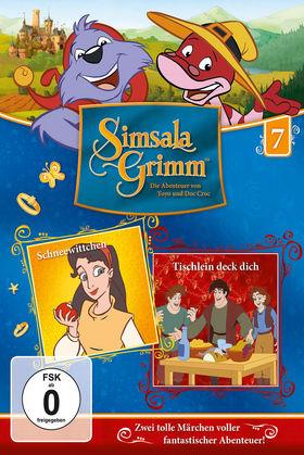 SimsalaGrimm, 07: Schneewittchen / Tischlein deck dich, 00602547225986