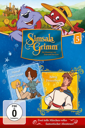SimsalaGrimm, 05: Hänsel und Gretel / König Drosselbart, 00602547225955