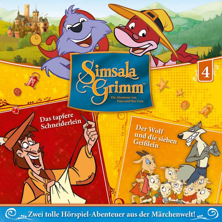 04: Das tapfere Schneiderlein / D. sieben Geißlein