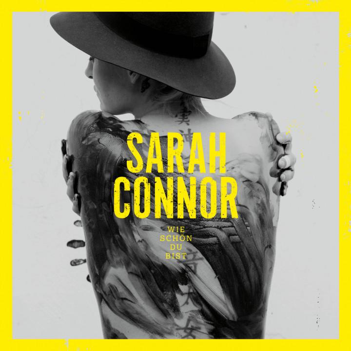 """Sarah Connor Single Cover """"Wie schön du bist"""""""