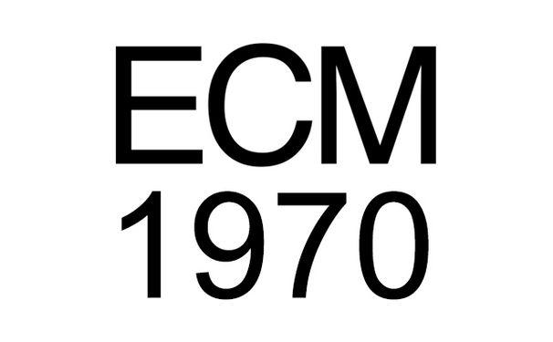 ECM Sounds, ECM 1970: ECM bringt mit Mal Waldron, Wolfgang Dauner, Paul Bley und Jan Garbarek  seine ersten Veröffentlichungen auf den Markt