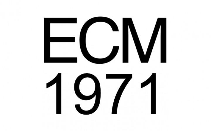 ECM Chronik: Das Jahr 1971