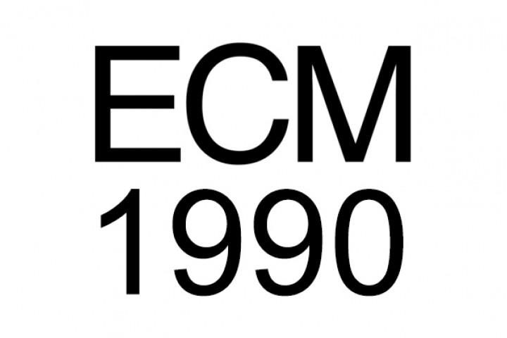 Das Label ECM im Jahr 1990